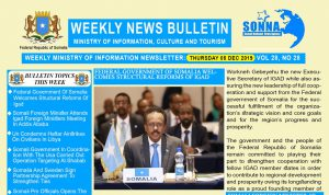 Weekly News Bulletin Vol 28