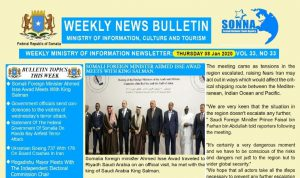 Weekly News Bulletin Vol 33