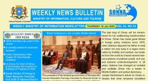 Weekly News Bulletin Vol 34